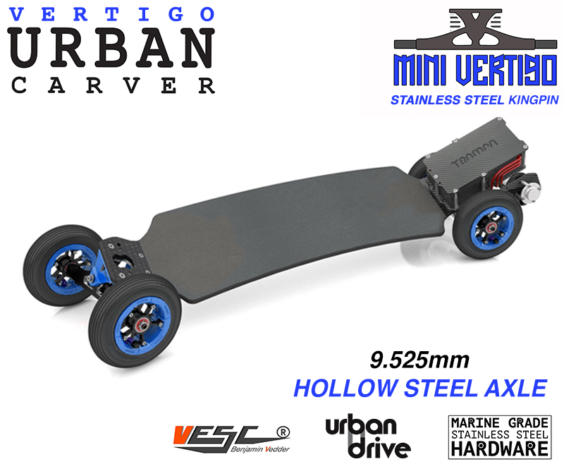 ELECTRIC Longboard Trampa URBAN CARVE ULTIMATE