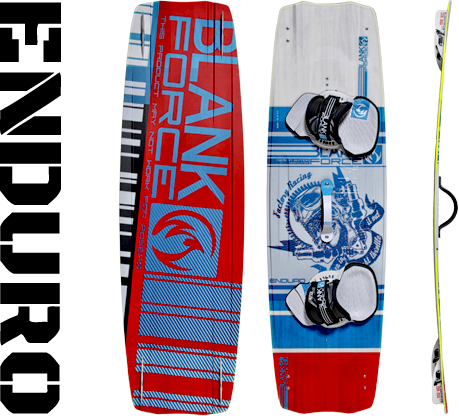 Kiteboard BlankForce Enduro V2 2018 (134až140cm) wakestyle/freestyle