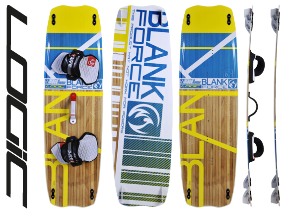 Kiteboard BlankForce Logic (130až140cm) Freeride