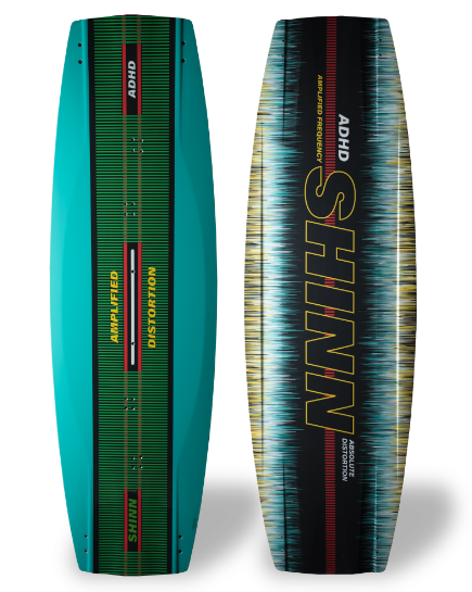 Kiteboard Shinn ADHD DISTORTION (138až142cm) freestyle,freeride