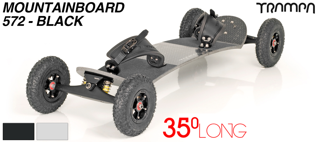Mountainboard Trampa Deck LONG 35° Truck INFINITY Hubs SUPERSTAR (7700g)