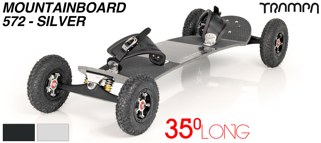 Mountainboard Trampa Deck LONG 35° Truck INFINITY Hubs SUPERSTAR (7900g)