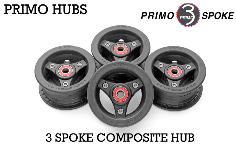 Disky PRIMO 3 SPOKE Composite (9) (SADA) (1128g)