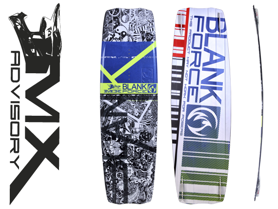 Kiteboard BlankForce MX (138až142cm) freestyle/wakestile