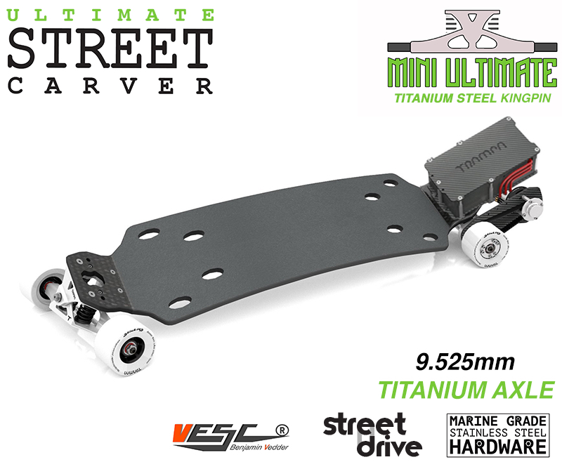 ELECTRIC Longboard Trampa STREET CARVE ULTIMATE