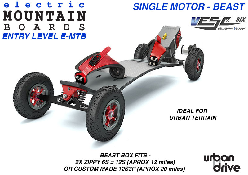 ELECTRIC Mountainboard Trampa URBAN DRIVE ENTRY LEVEL