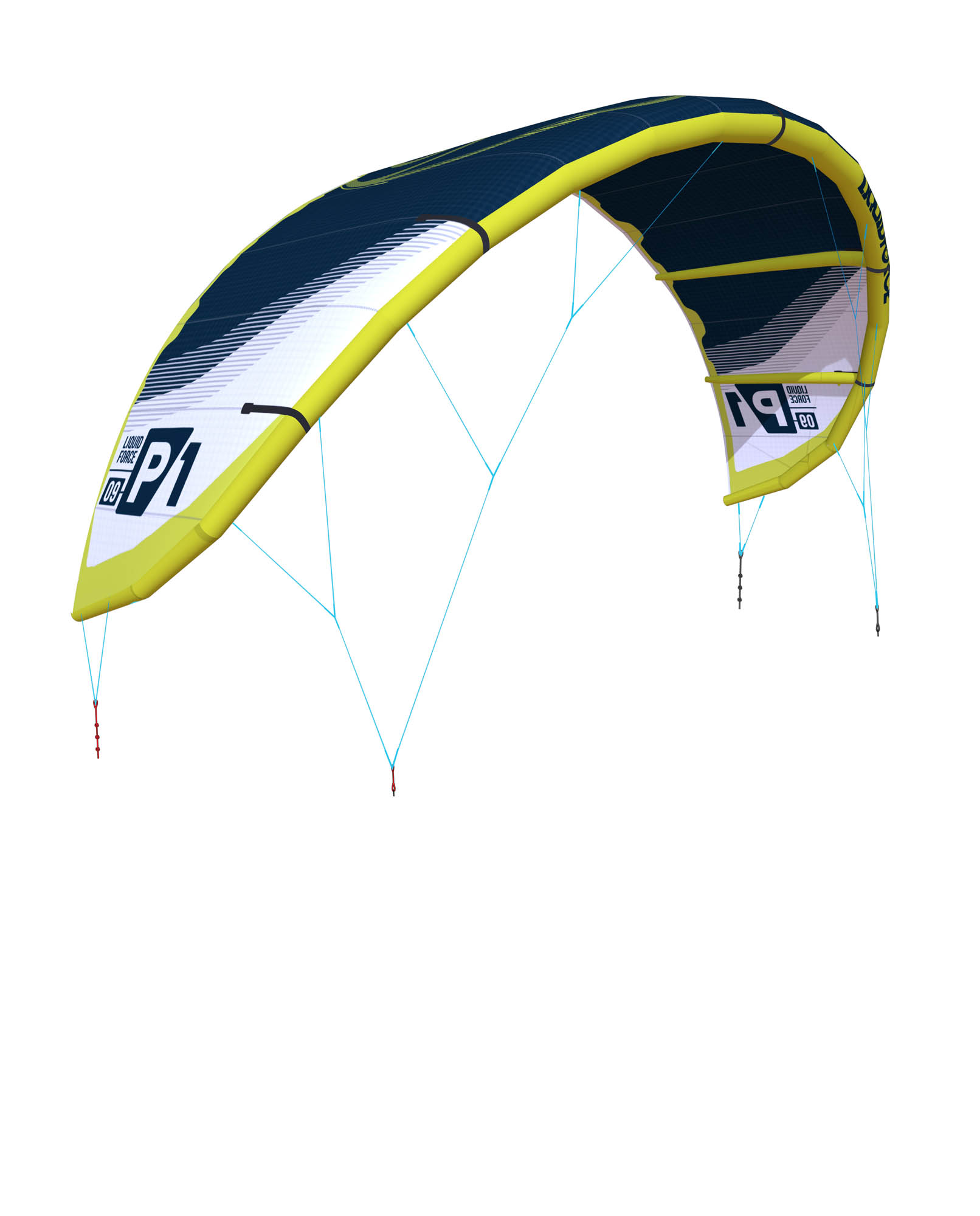 Kites LIQUID FORCE P1 (4až16m) (2018/2019) freeride/freestyle/foil/BigAir