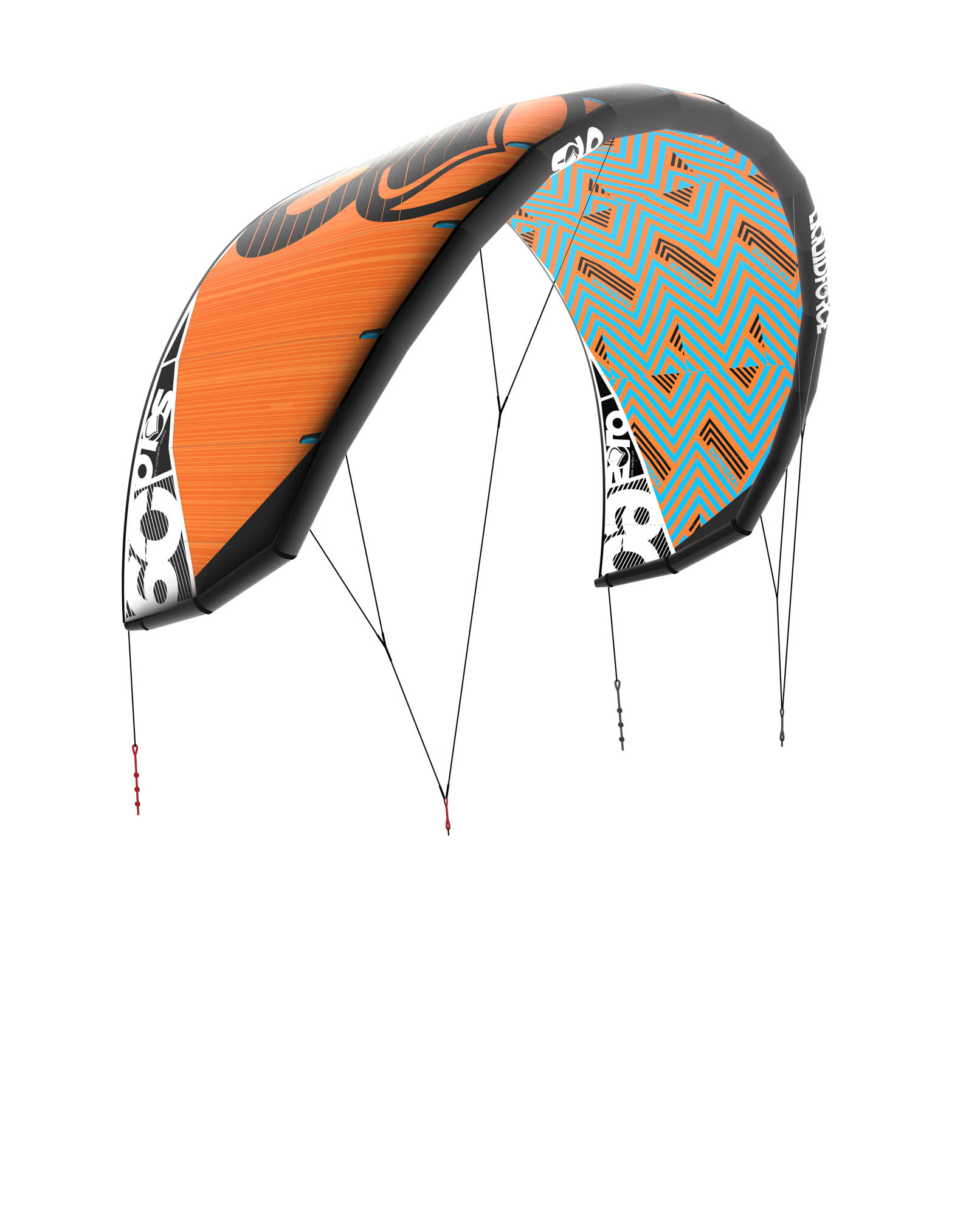 Kites LIQUID FORCE Solo v3 (3,5až17,5m) (2018/2019) freeride/foil