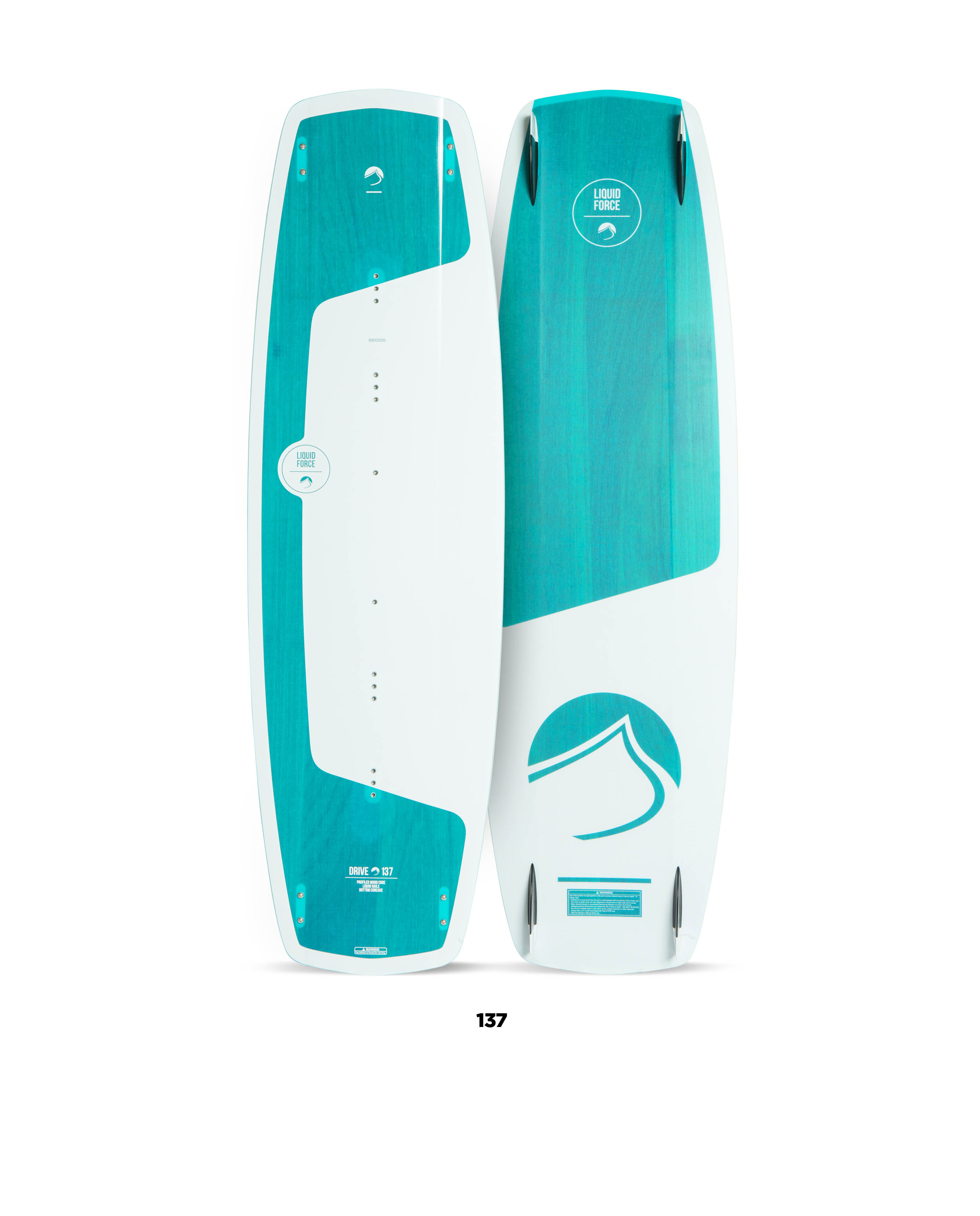 Kiteboard  LIQUID FORCE DRIVE (134až143cm) freeride,freestyle