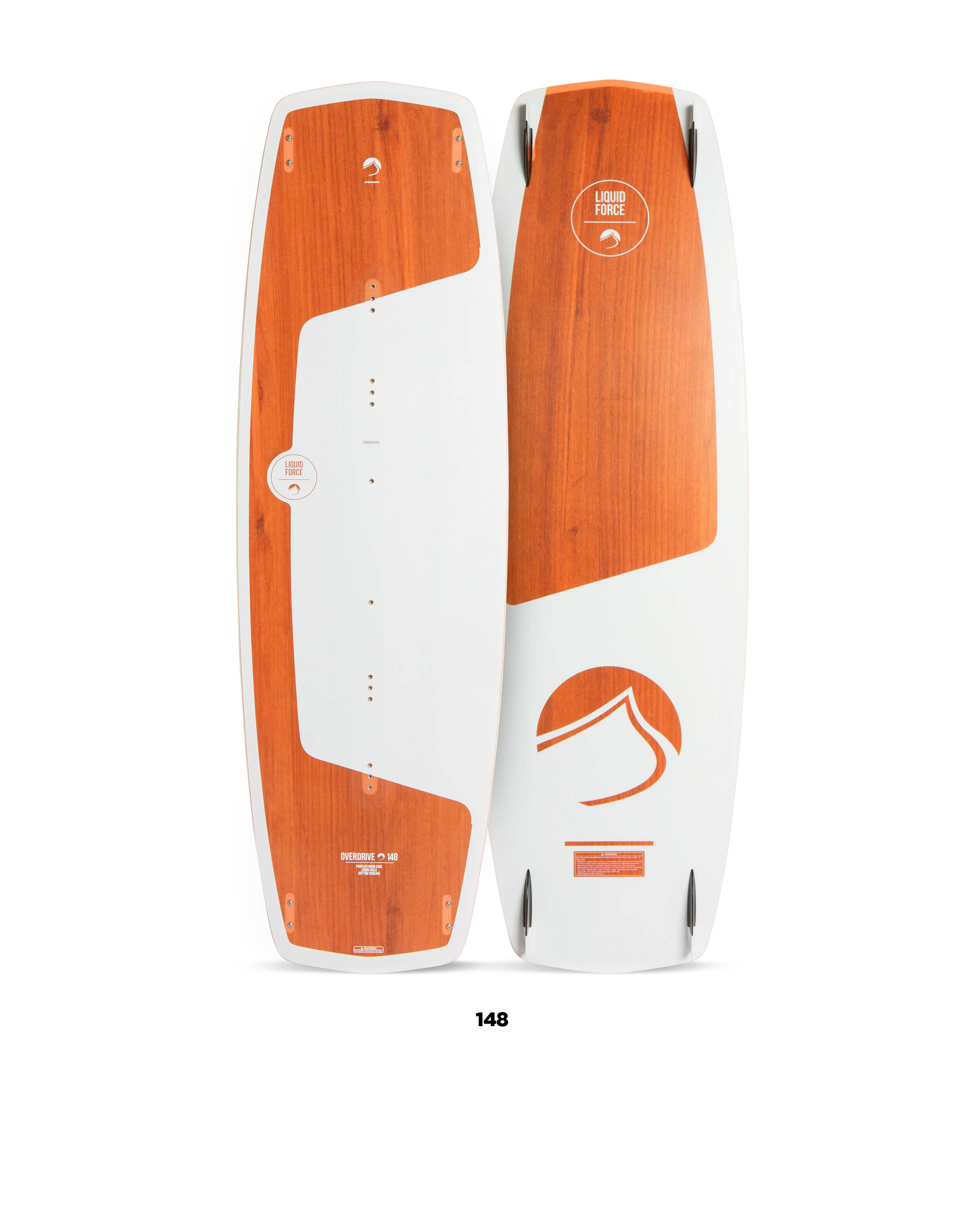 Kiteboard  LIQUID FORCE OVER DRIVE (142až148cm) freeride,freestyle,lightwind