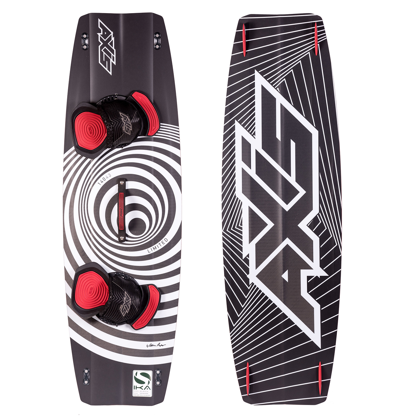 Kiteboard AXIS LIMITED 2018 (132až141cm) freeride/freestyle