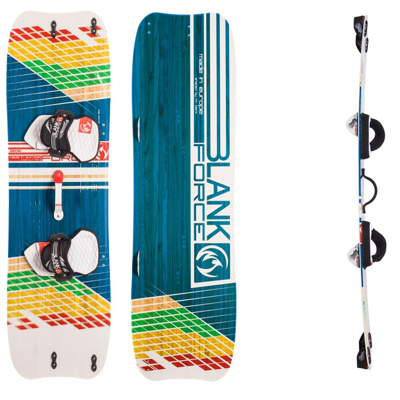 Kiteboard BlankForce Drive (159cm)(3,2kg) Light Wind/school