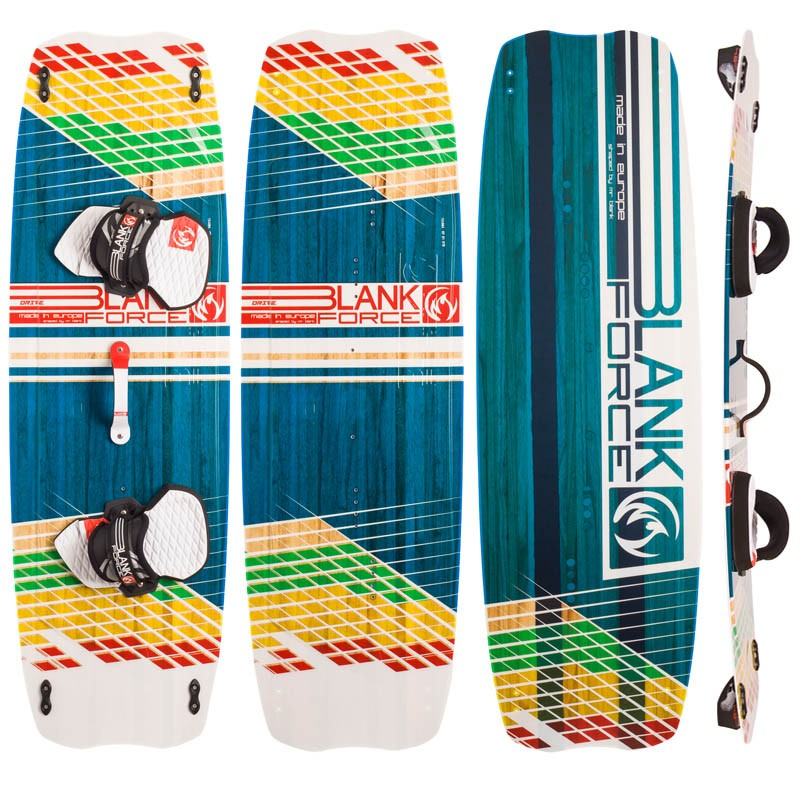 Kiteboard BlankForce Drive (153cm)(3,2kg) Light Wind/school