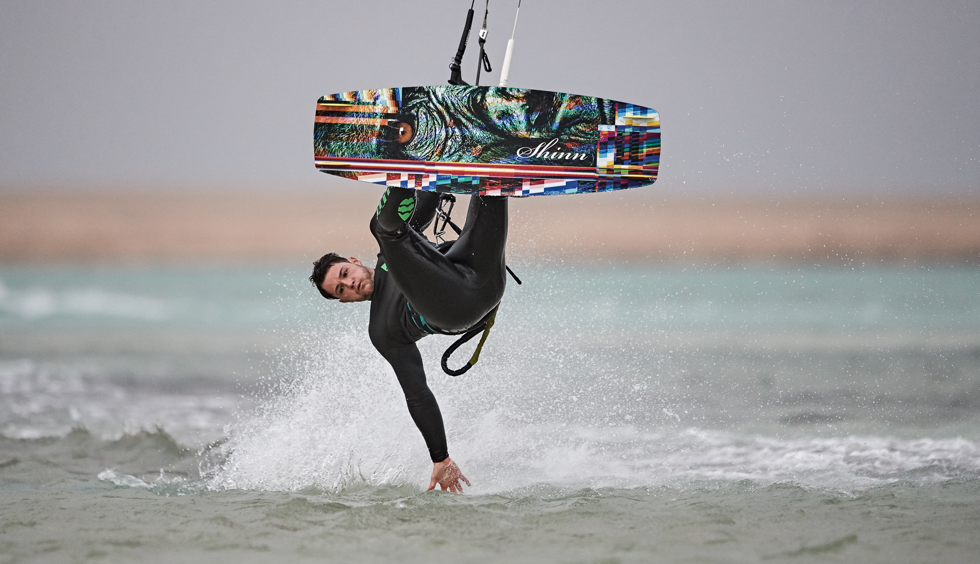 Kiteboard Shinn MONK GLITCH (132až137cm) freeride